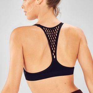 NWT Fabletics Devore Seamless Sports Bra L